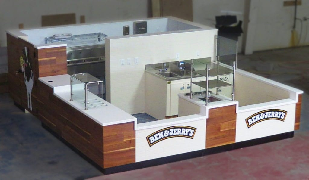 Ben & Jerry's Prudential Down View