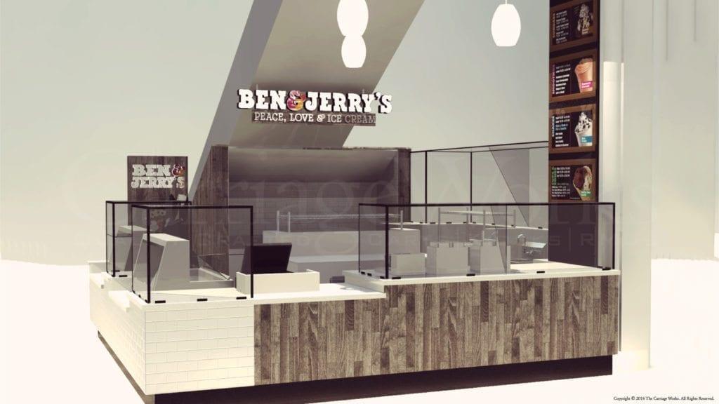 Ben & Jerry's Ice Cream Rendering